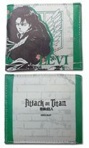 Attack on Titan Mikasa White and Green Bifold Wallet