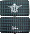 Black Butler Kuroshitsuji Emblem Checkbook Wallet