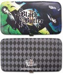 Black Butler Claude and Sebastian Checkbook Wallet
