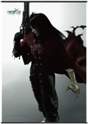 Final Fantasy Vincent Square Enix Cloth Wall Scroll