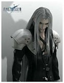 Final Fantasy Sephiroth Square Enix Cloth Wall Scroll