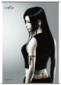 Final Fantasy Tifa Square Enix Cloth Wall Scroll