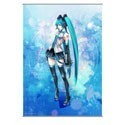 Vocaloid Hatsune Miku Square Enix Cloth Wall Scroll
