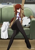 Steins;Gate Makise Kurisu Wall Scroll 27.8 x 19.7 inches