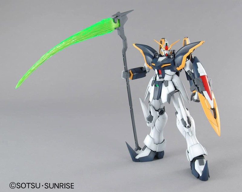 Gundam Wing Endless Waltz Gundam Deathscythe Master Grade MG Bandai Model Kit 1/100 Figure