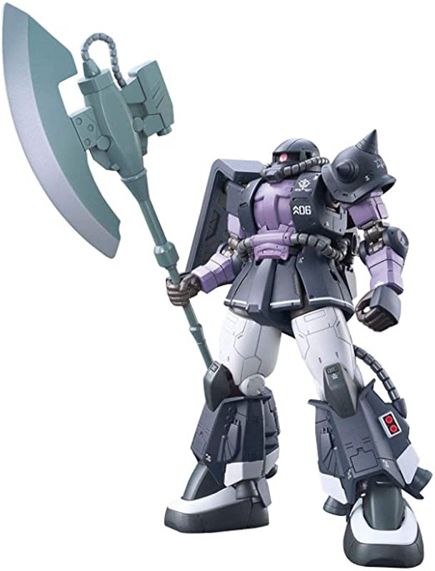 Gundam the Origin Zaku II Ortega Cusom High Grade HG Bandai Model Kit 1/144 Figure