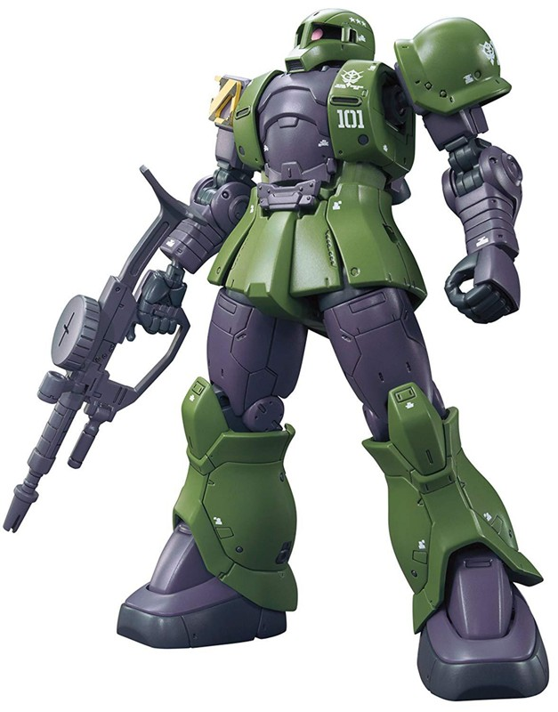 Gundam the Origin Zaku I Denim/Slender Unit High Grade HG Bandai Model Kit 1/144 Figure