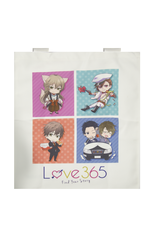 LOVE 365: Find Your Story Canvas Tote Bag