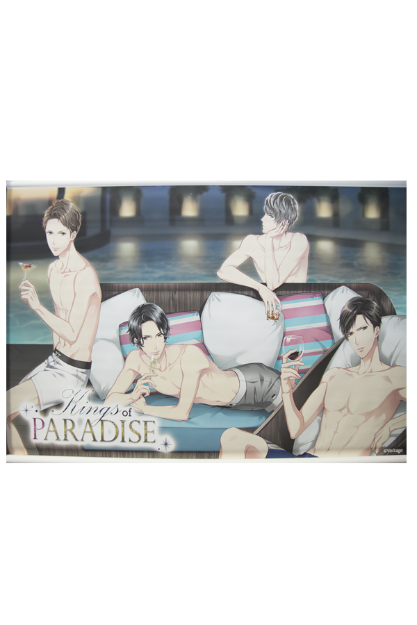Kings of Paradise Poolside Wallscroll