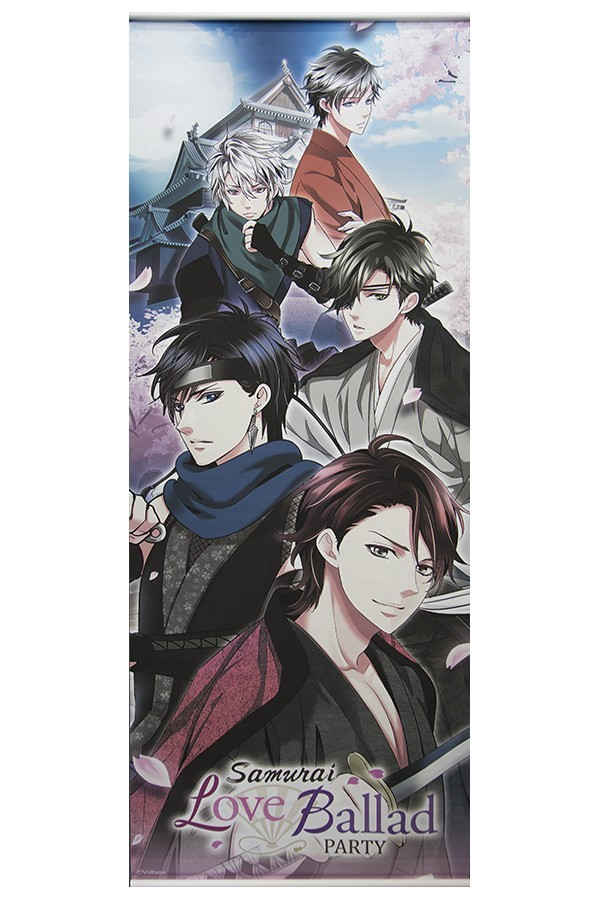 Samurai Love Ballad BIG Wall Scroll