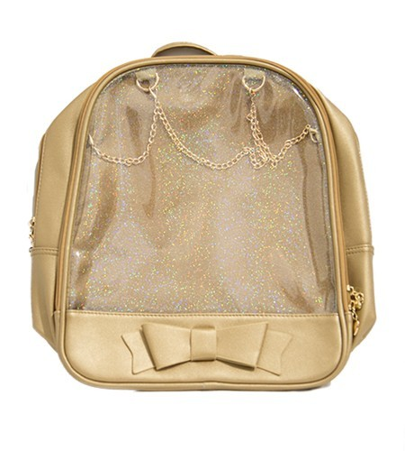 Ita Bag - Gold with Gold Chains
