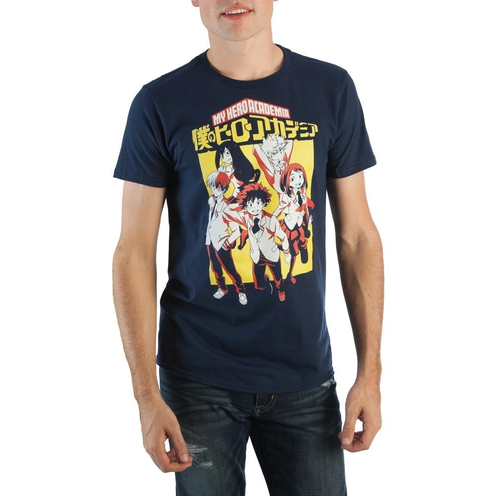 My Hero Academia School Uniforms Group Men's T-Shirt