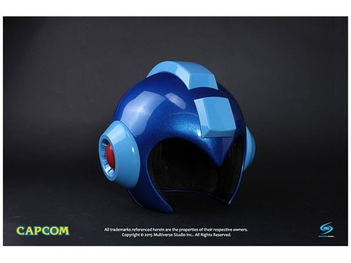 Megaman Light Up Wearable 1:1 Scale Helmet