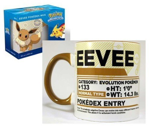 Pokemon Eevee Coffee Mug Cup