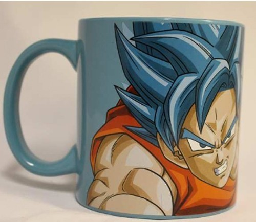Dragonball Z Resurrection of F SSGSS Goku Coffee Mug Cup