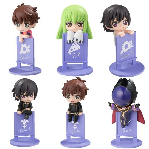 Code Geass Ochatomo Cup Decorations Set of 6