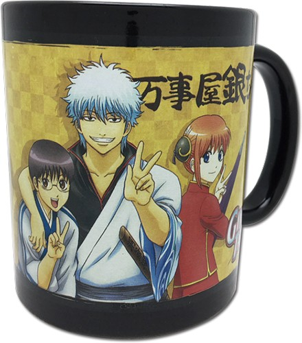 Gintama Group Coffee Mug Cup