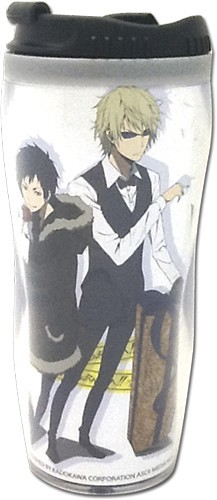 Durarara!! Izaya and Shizuo Tumbler Coffee Mug Cup
