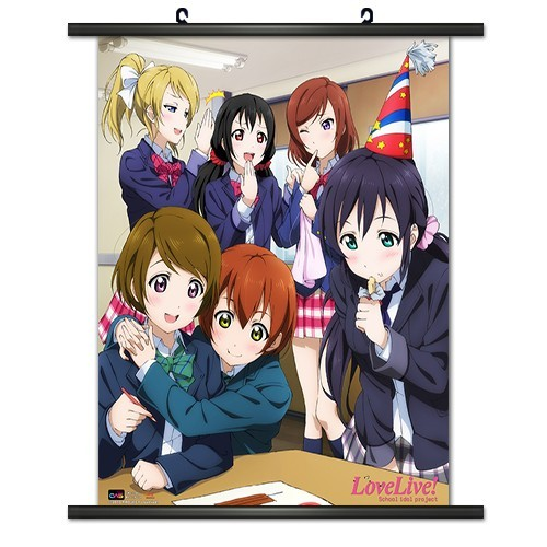 Love Live Classroom Party Wall Scroll Poster