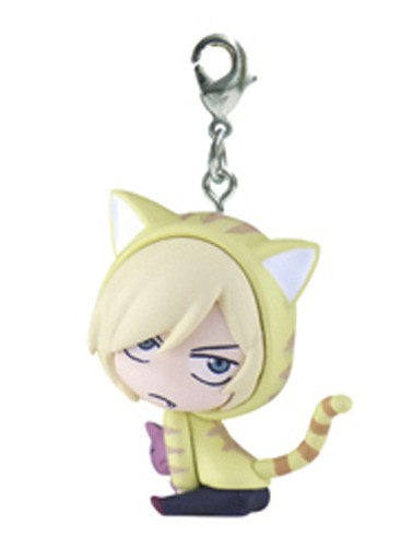 Yuri On Ice Yuri Pliestsky Cat Hoodie Fastener Mascot Charm