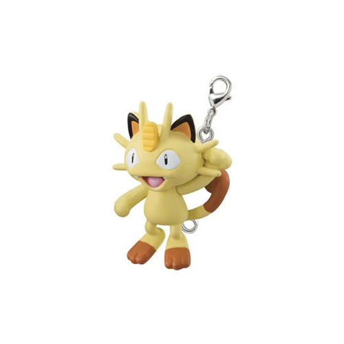 Pokemon Meowth Connecting Mascot Vol. 4 Fastener Charm