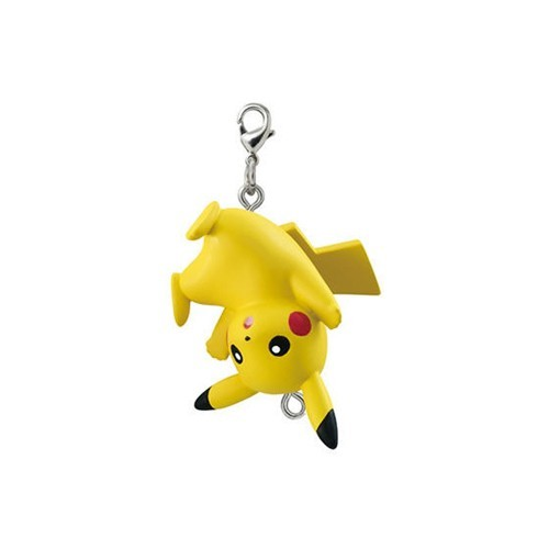 Pokemon Pikachu Upside Down Connecting Mascot Vol. 4 Fastener Charm