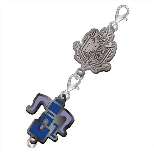 Monster Hunter Heavy Bowgun Weapons Metal Fastener Charm