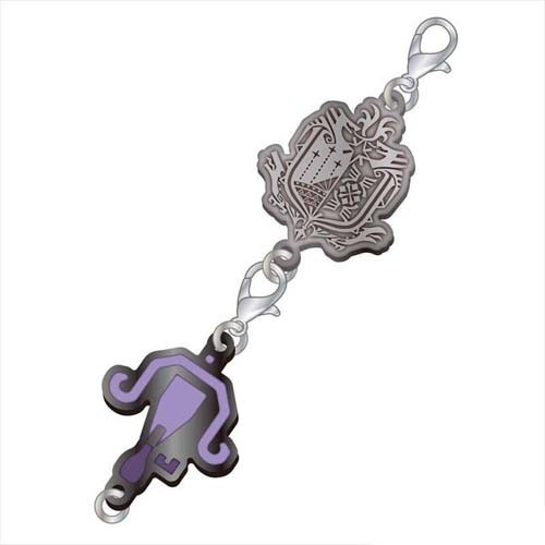 Monster Hunter Light Bowgun Weapons Metal Fastener Charm