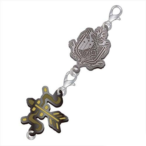 Monster Hunter Bow Weapons Metal Fastener Charm