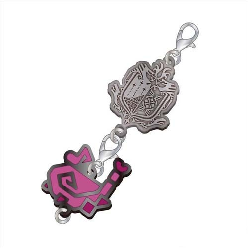 Monster Hunter Hunting Horn Weapons Metal Fastener Charm