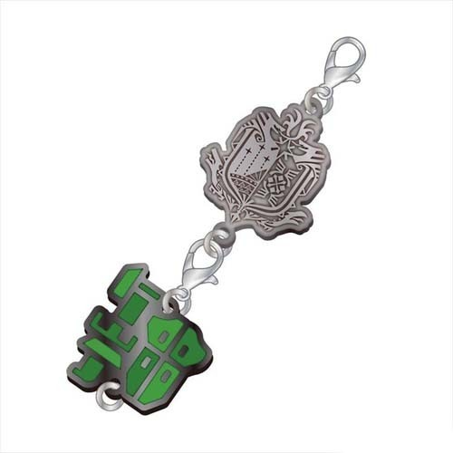 Monster Hunter Gun Lance Weapons Metal Fastener Charm