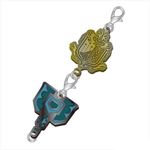 Monster Hunter Charge Blade Weapons Metal Fastener Charm
