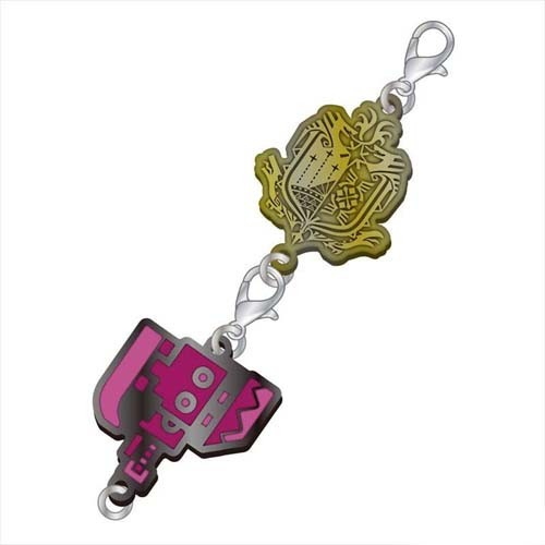 Monster Hunter Switch Axe Weapons Metal Fastener Charm