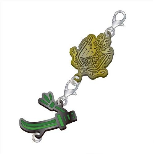 Monster Hunter Long Sword Weapons Metal Fastener Charm