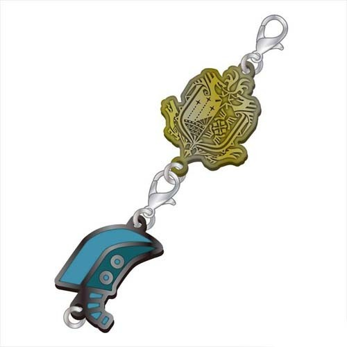 Monster Hunter Great Sword Weapons Metal Fastener Charm