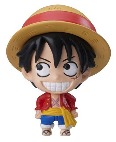 One Piece Luffy New World Chara Fortune Mascot Fastener Charm