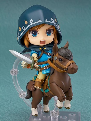 Zelda Breath of the Wild Ver. DX Edition Link Nendoroid Figure