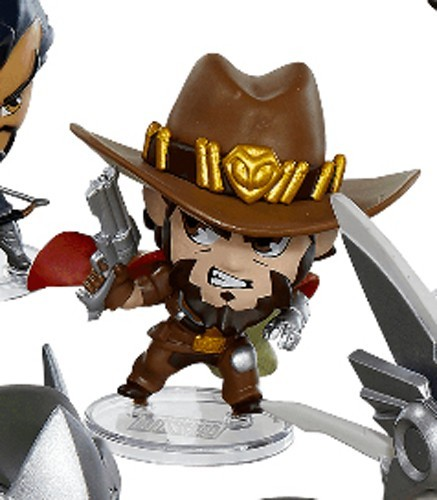 Overwatch 3'' McCree Cute But Deadly Trading Figure