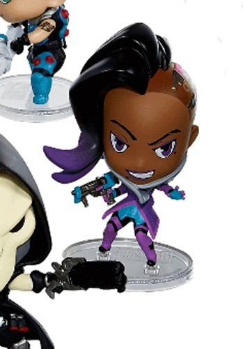Overwatch 3'' Sombra Cute But Deadly Trading Figure