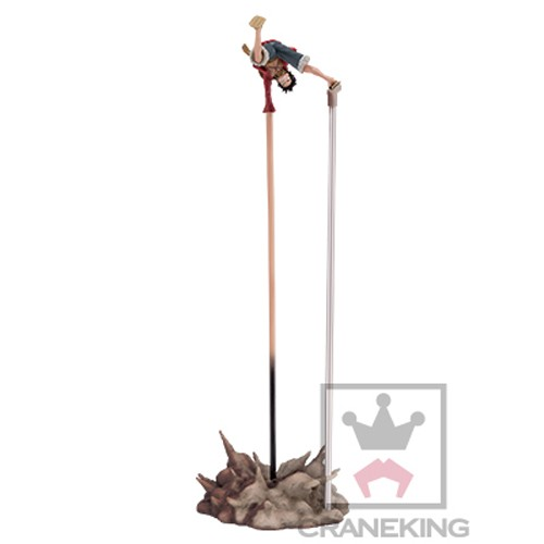 One Piece 12'' Luffy Gomu Gomu no Pistol Banpresto Prize Figure