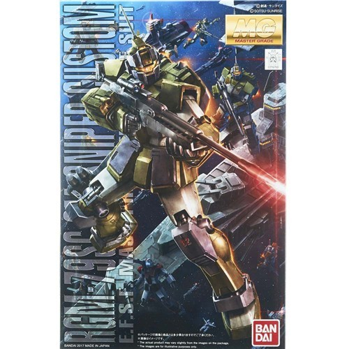 Gundam GM Sniper Custom MSV MG Model Kit Figure