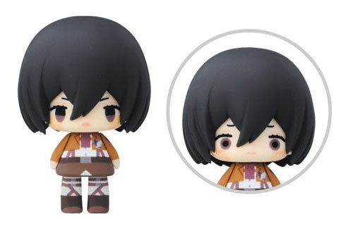 Attack on Titan 3'' Mikasa Chibi Trading Figure