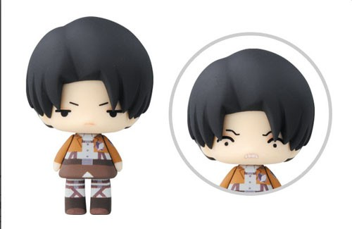 Attack on Titan 3'' Levi Chibi Trading Figure