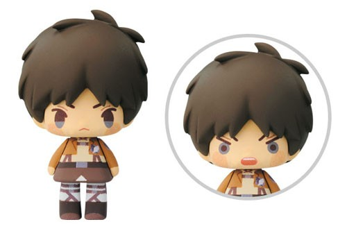 Attack on Titan 3'' Eren Chibi Trading Figure