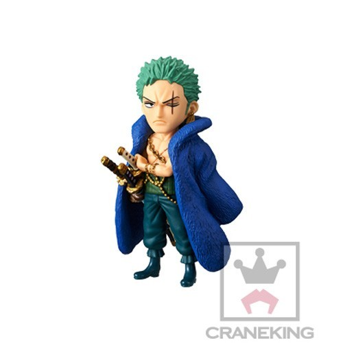 One Piece 3'' Zoro 20th Anniversary WCF Prize Trading Figure