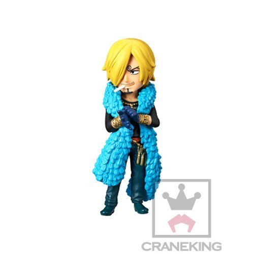 One Piece 3'' Sanji 20th Anniversary WCF Prize Trading Figure