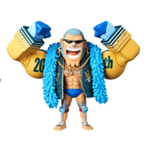 One Piece 3'' Franky 20th Anniversary WCF Prize Trading Figure
