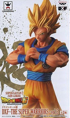 Dragonball Z 6'' SS Goku The Super Warriors Vol. 5 DXF Prize Figure