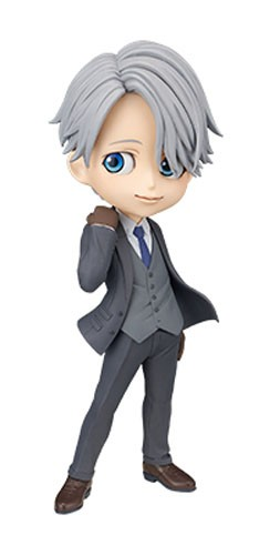 Yuri on Ice 6'' Victor Nikiforov Dark Grey Qposket Prince Banpresto Prize Figure