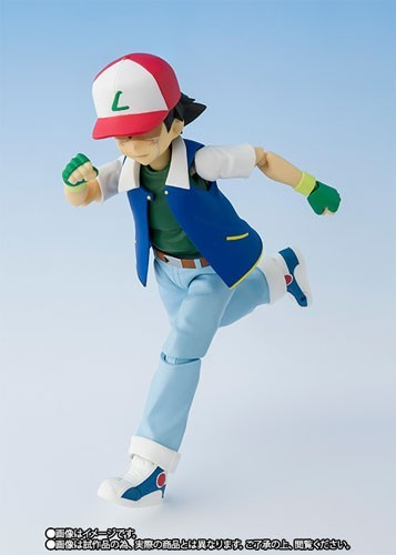 Pokemon 5'' Ash and Pikachu S.H Figuarts Bandai Action Figure